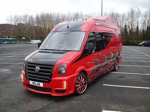 Modified Vw Crafter - not keen on it as a whole, but I do like some aspects if it...
