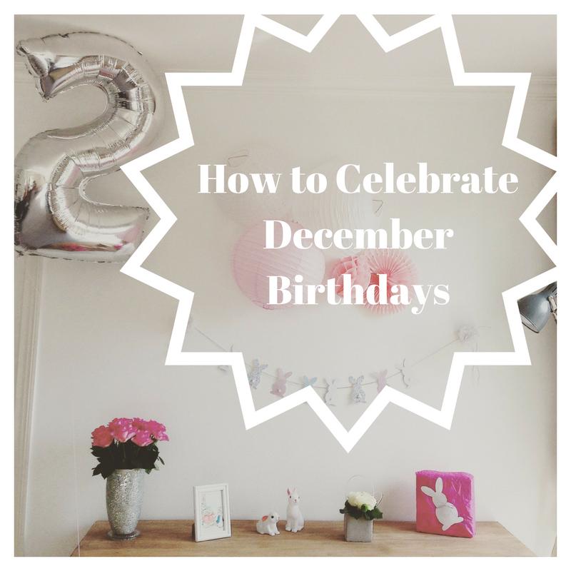 How To Celebrate Kids With December Birthdays Birthday