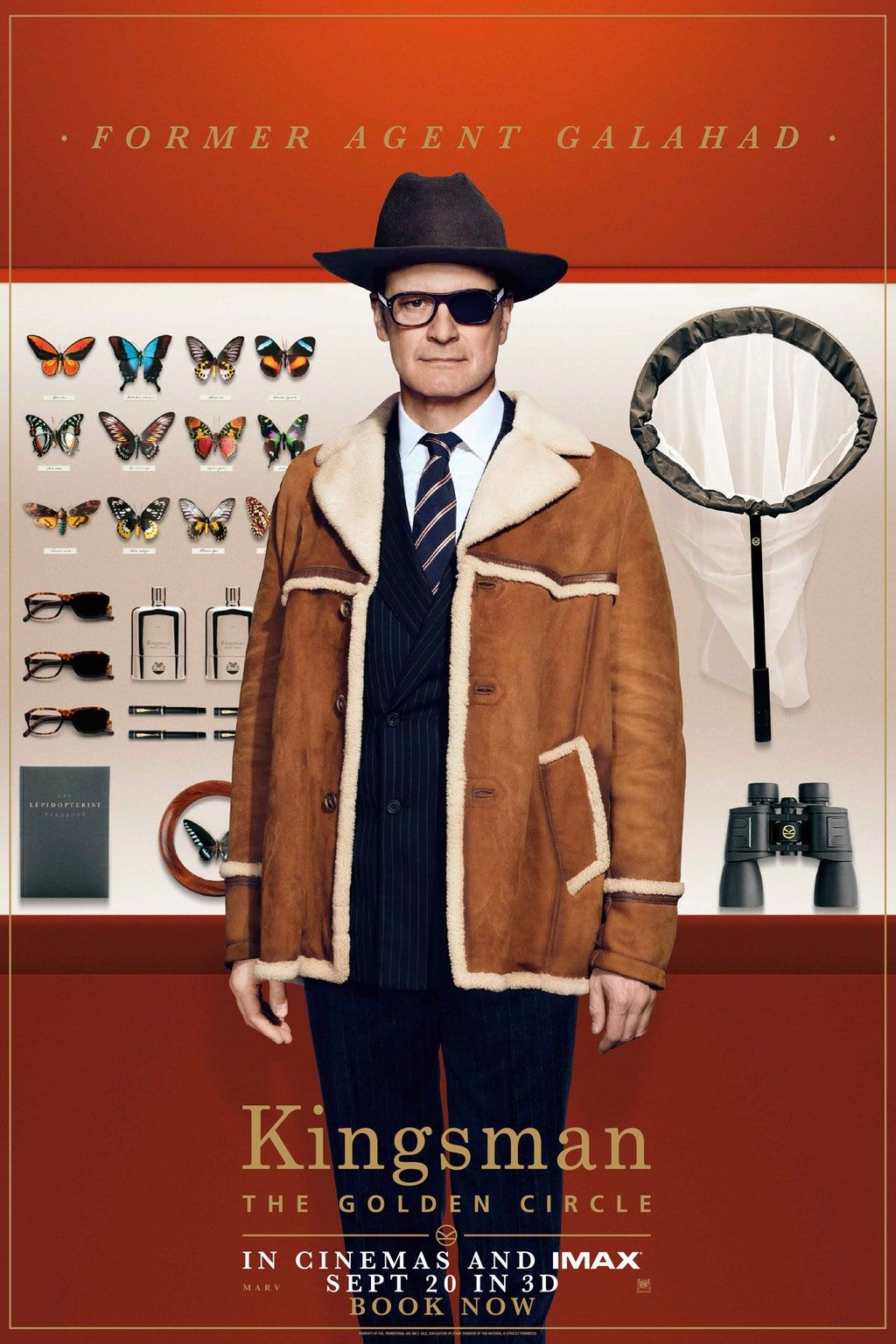 Exclusive new posters from Kingsman The Golden Circle in