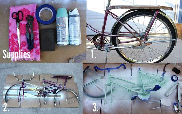 How-To: Spray Paint a Vintage Bike - makezine.com