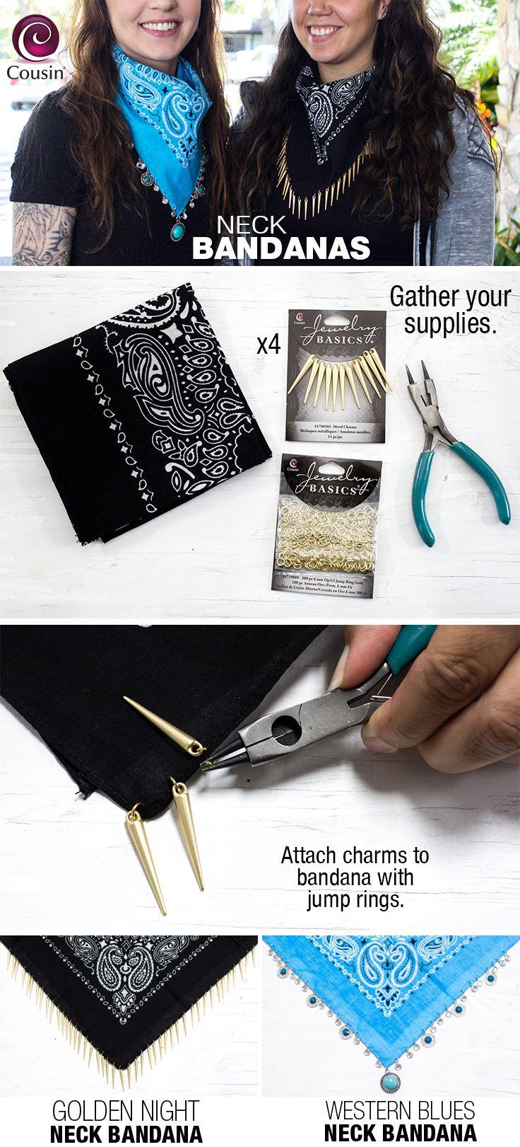 Diy Bandana Accessories How To Wear A Bandanna Diy Scarf Tutorial Easy New Sew Fashion Accessori Diy Festival Clothes Fashion Design For Kids Diy Fashion