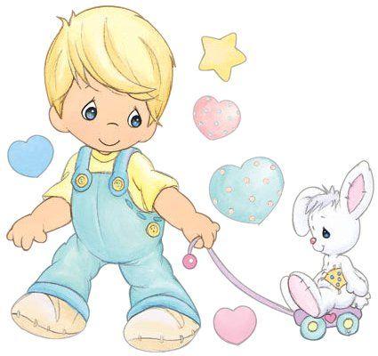 Dibujos de Precious Moments a color bebés - Imagui