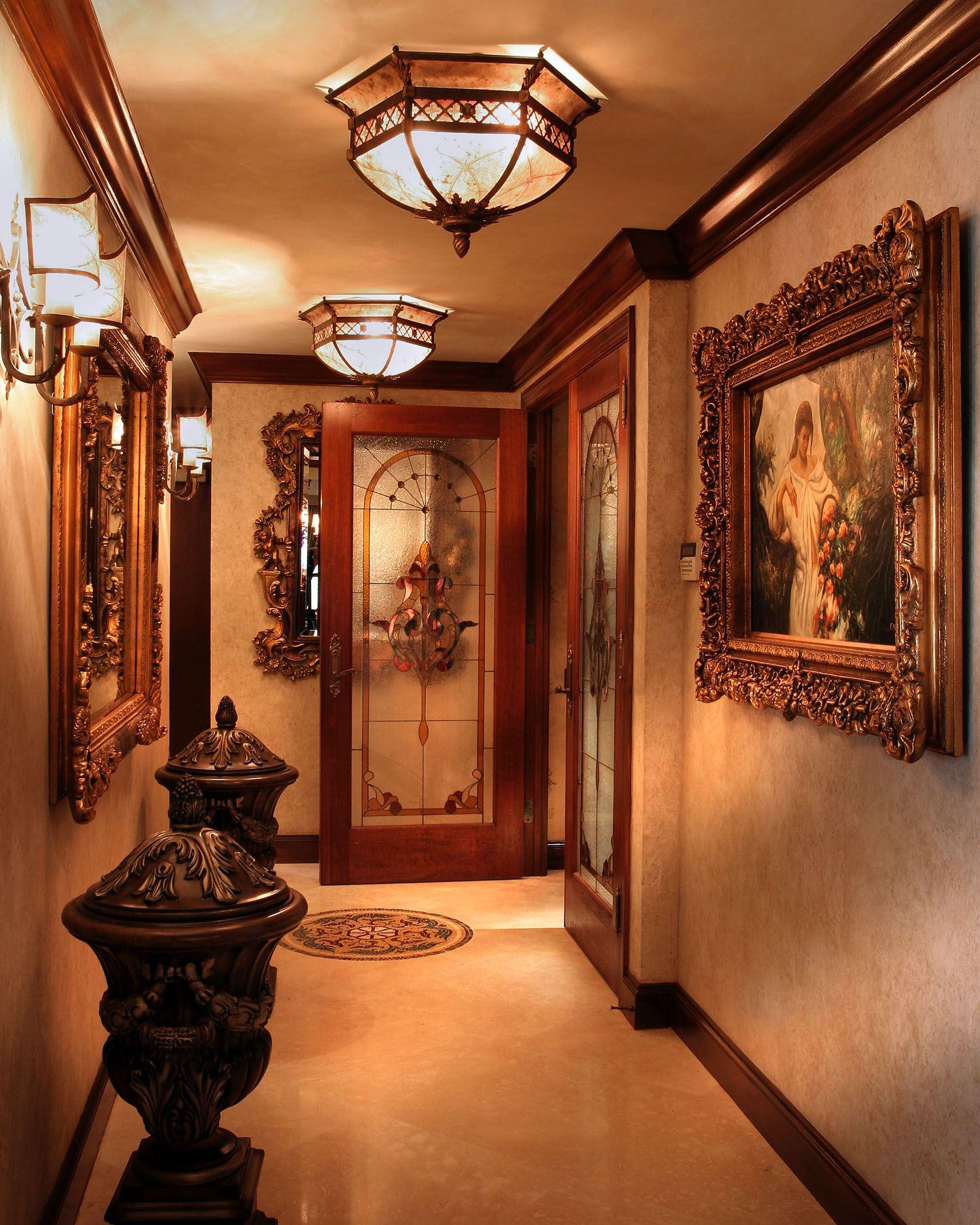 Luxury hallway interior design by perla lichi my home pinterest