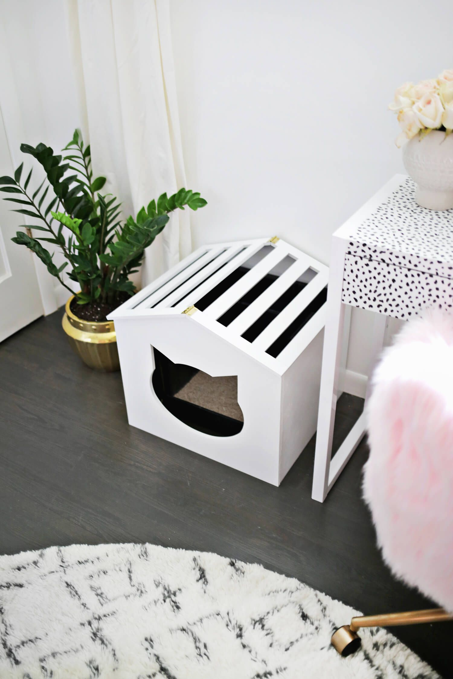 Litter Box Cover Diy Diy Litter Box Litter Box Covers Diy Litter Box Cover