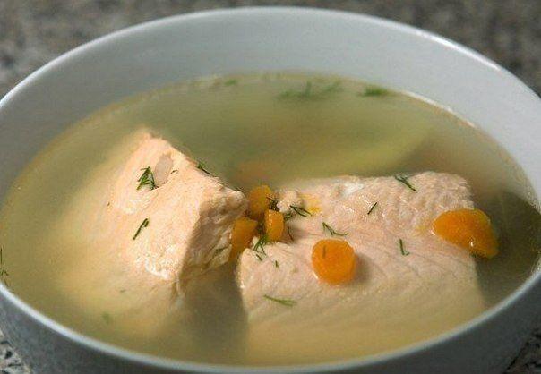 Уха из лосося | Рыбный суп, Супы и Рецепты супов