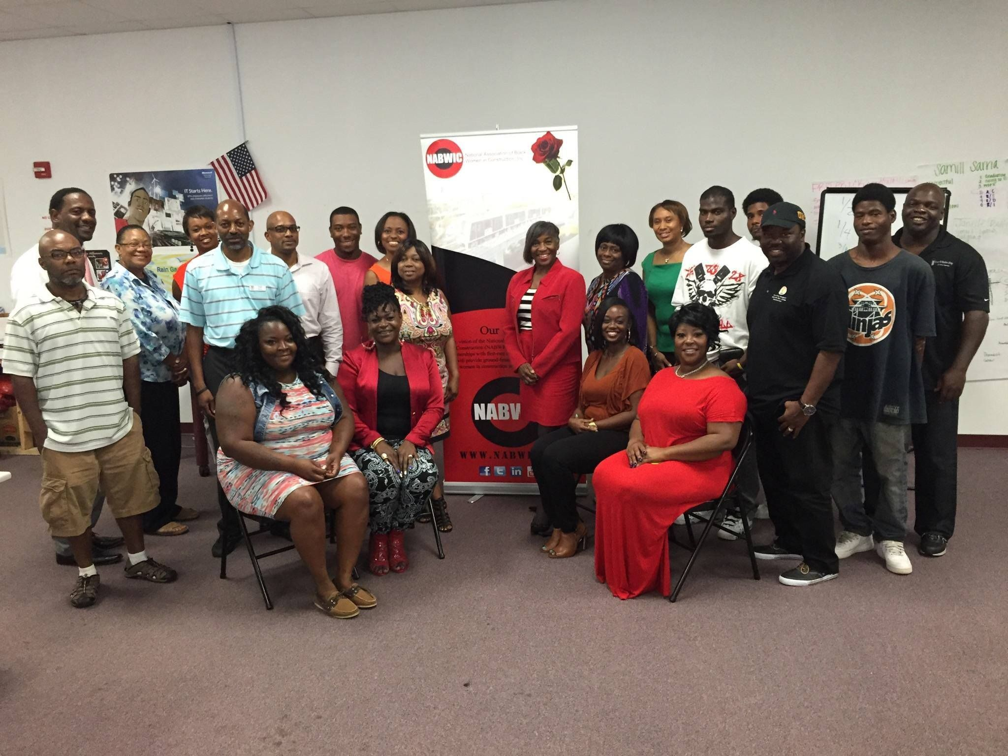 This is Living: Enjoying meeting with  NABWIC NWFL at Tampa CDC Www.nabwic.org