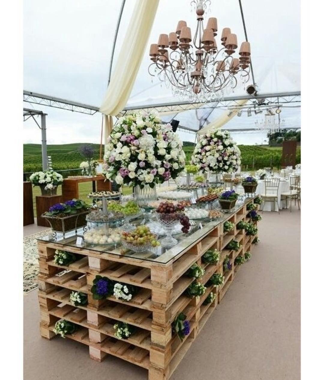 Pallet wedding decor ideas  Pin by Kathy TirschwellNewby on Decor ideas  Pinterest  Wedding