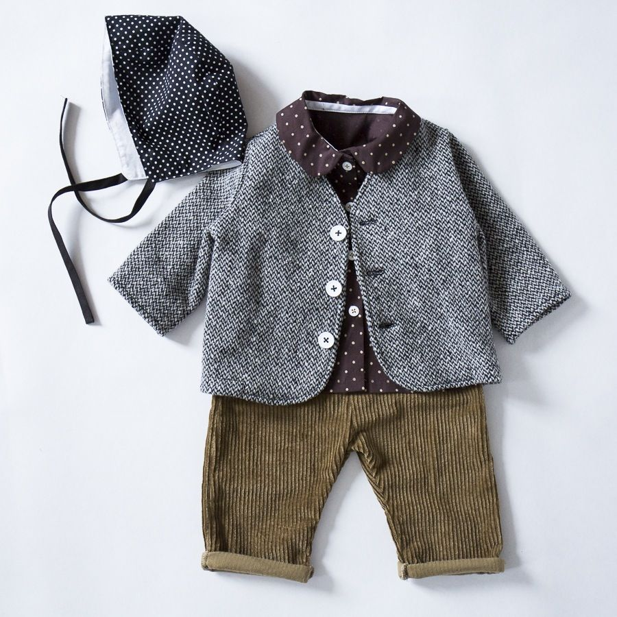 The Coat Is Totally Made From Brown Colored Fur And: AW16 Mini Coat For Boys And Girls Totally Hand Made In