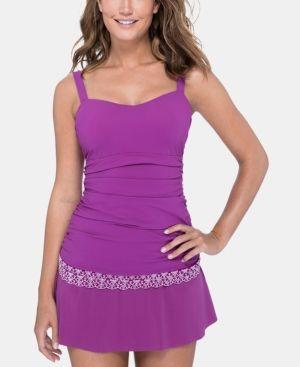 bd08ef0c69295 Gottex D-Cup Lace-Trim Tankini Top Women Swimsuit | Products | Swim ...