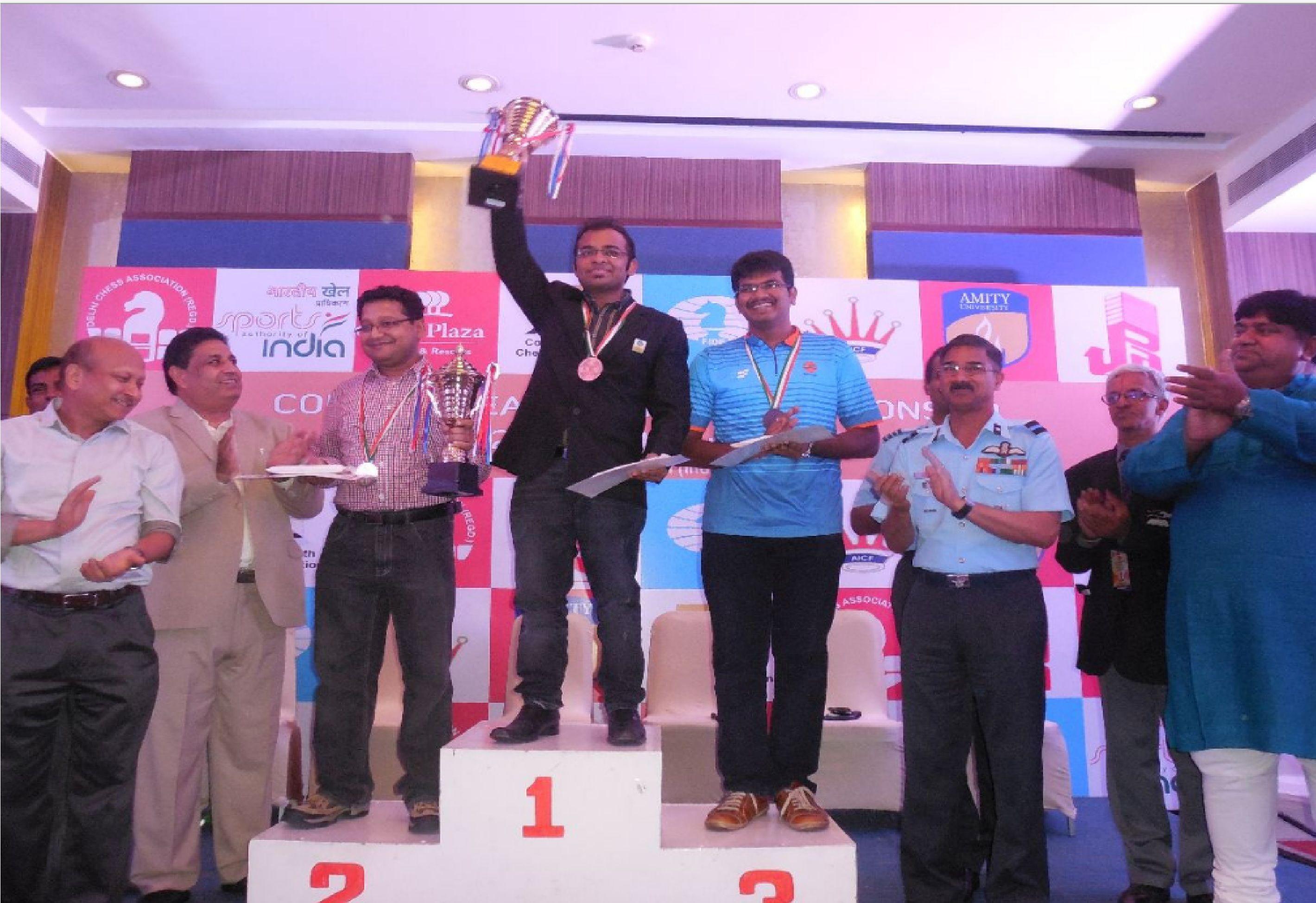 Grandmaster and former world junior champion abhijeet