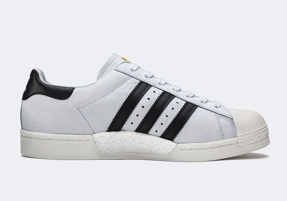 Men Adidas Originals White White Adidas Superstar Boost