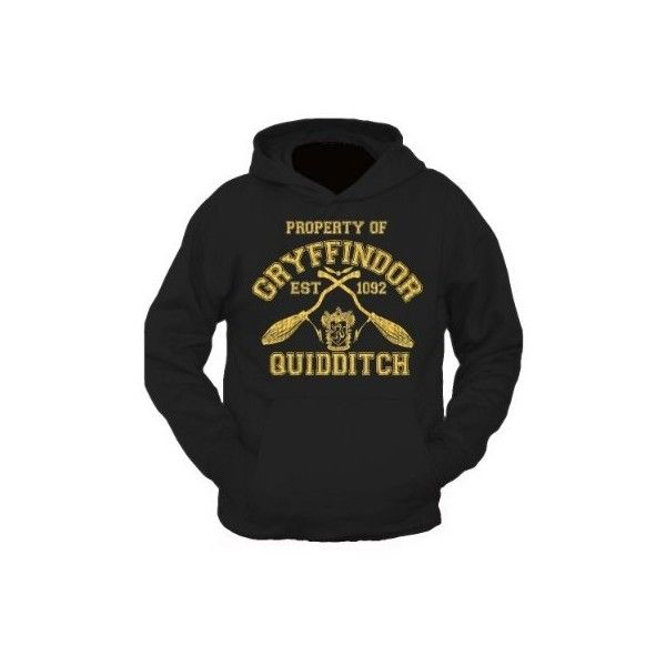 Gryffindor Quidditch Team Wear Harry Potter Inspired Team Hoody Adults and Kids