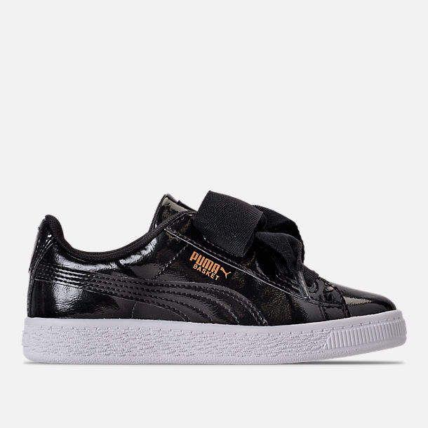 e32303a30dfb Girls  Little Kids  Puma Basket Heart Glam Casual Shoes