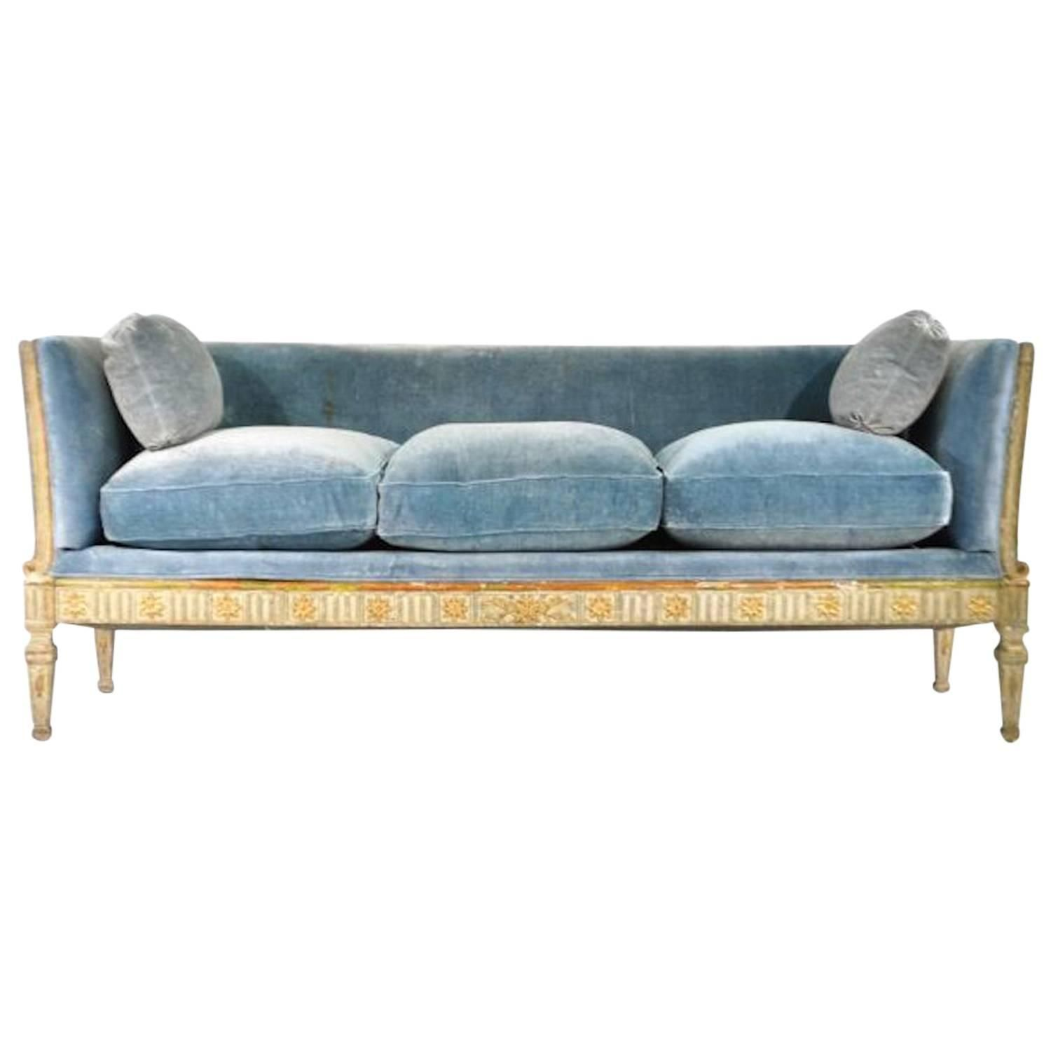 Early 19th Century Swedish Gustavian Sofa