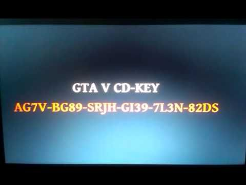 gta 5 cd key txt