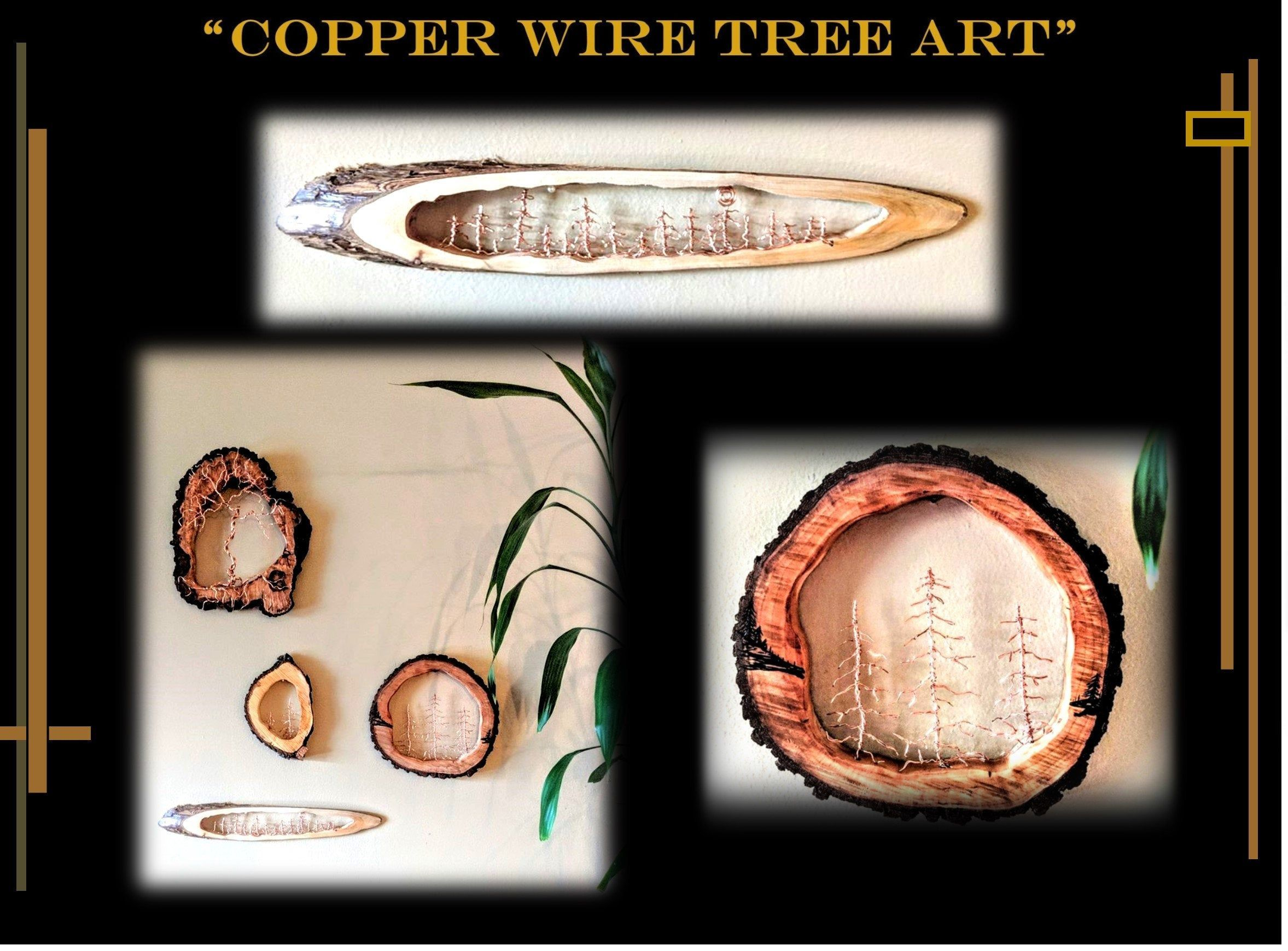 cool gifts, Rustic,lodge, cabin, decor. wire trees - tree art, sculpture,#art #cabin #cool #decor #gifts #rusticlodge #sculpture #tree #trees #wire