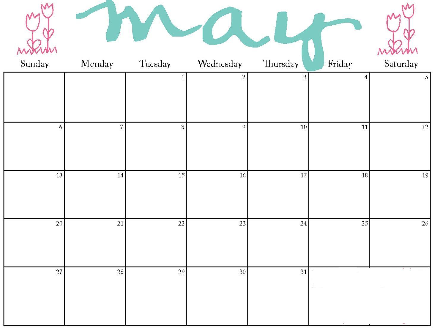 May 2018 Kg Kids Calendar 2018 Calendars Pinterest Calendar