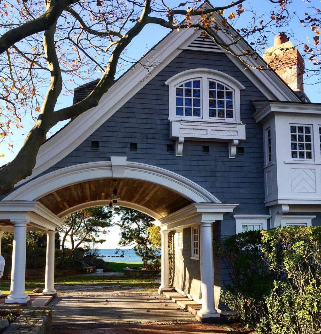 Pin Alice Richardson Manse Cottage Exteriors In