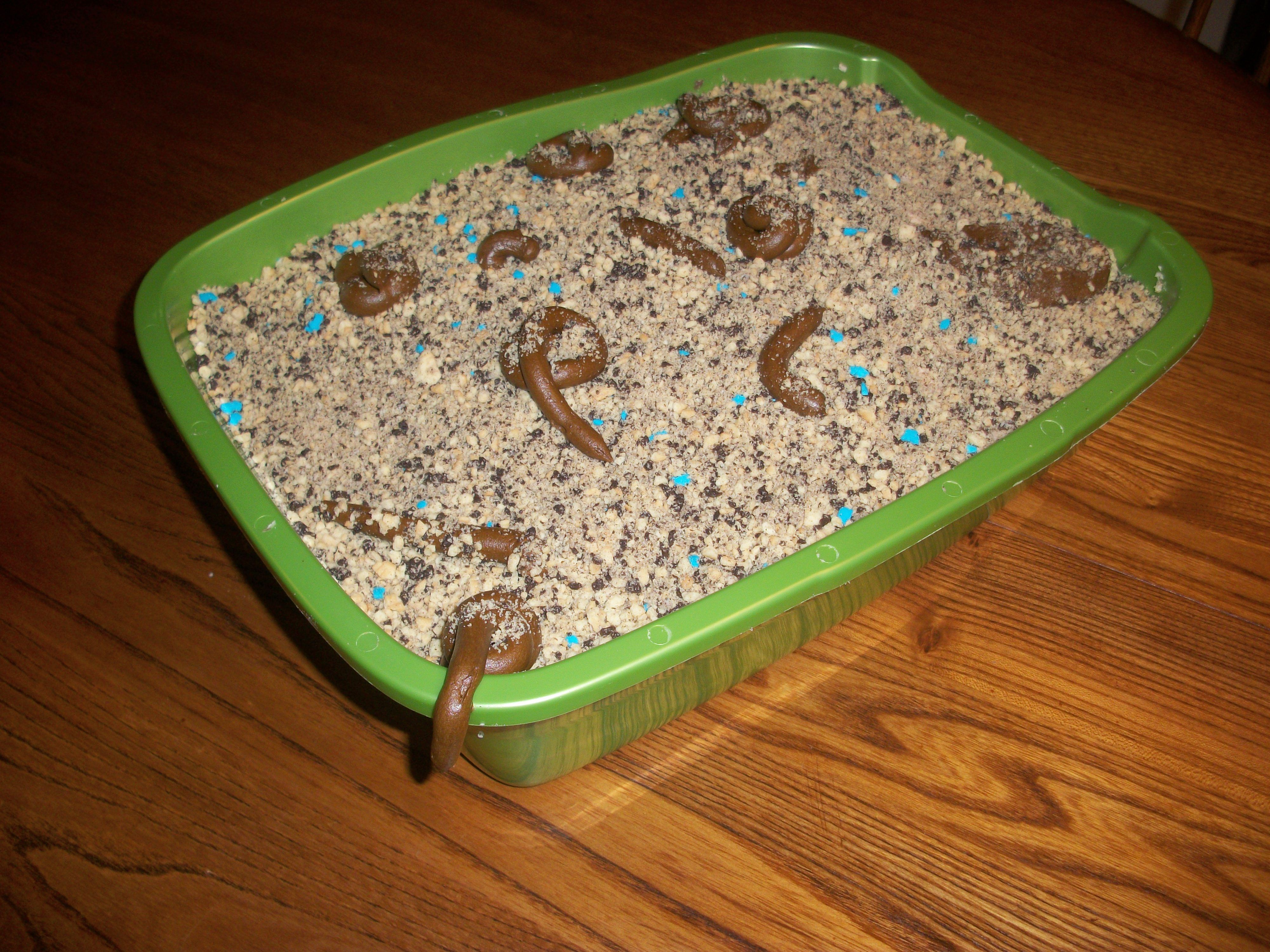 Kitty Litter Box Birthday Cake For A Cat Lover Lol My - Kitty litter birthday cake
