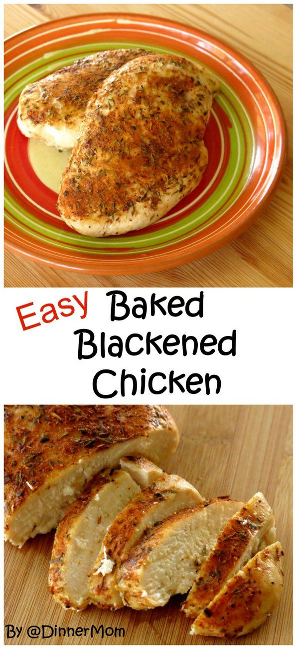 Blackened Chicken Breast with a Touch of Honey