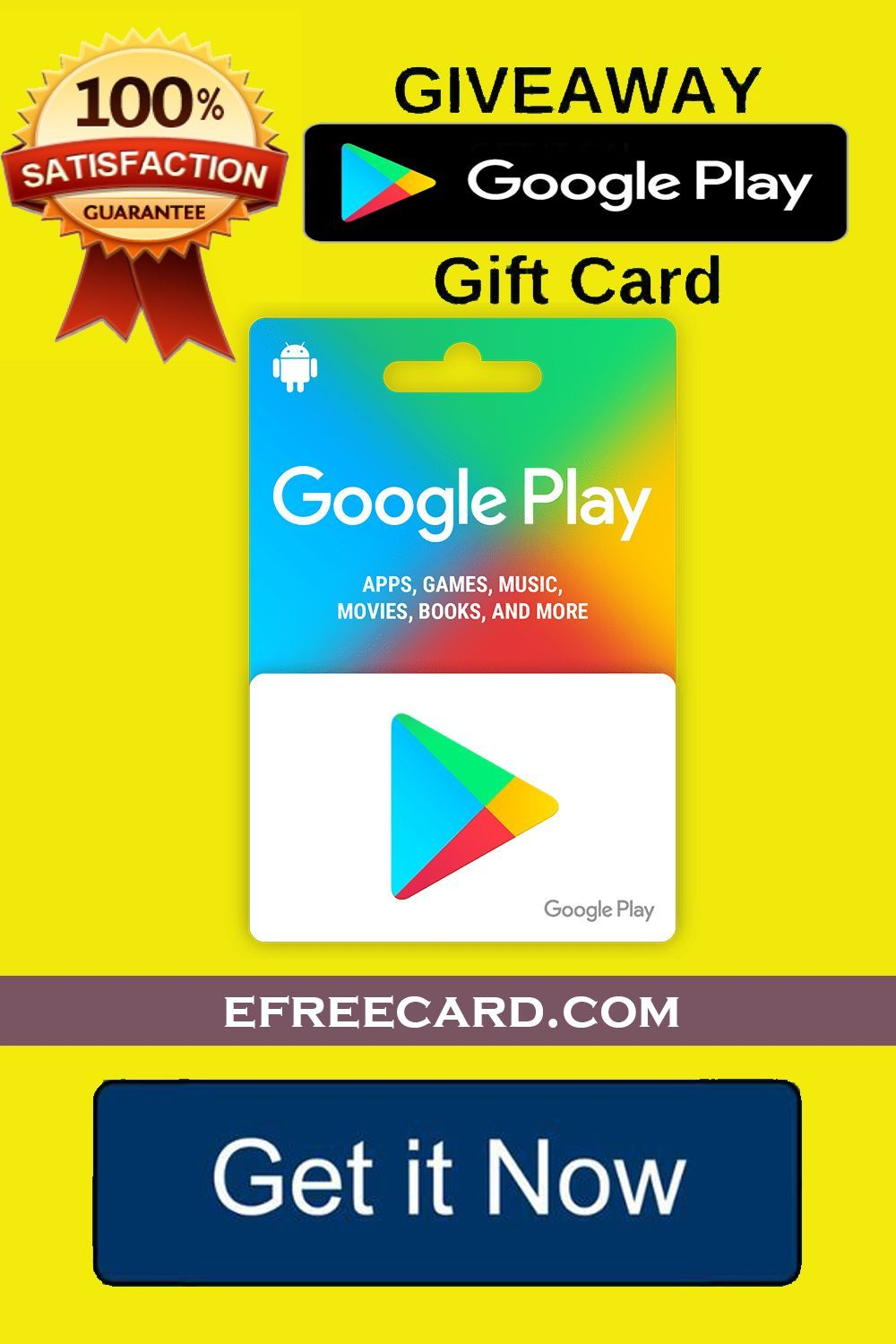 Win Playstore Gift Card Free Get A Googleplay Gift Card Free It S Easy To Get Working 100 To Get This Great Offer You Need To Go To The Link Di 2020