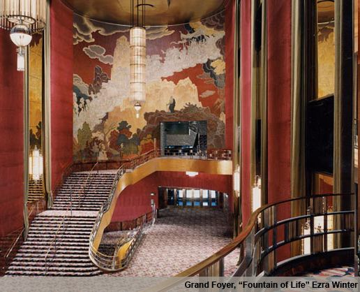 Radio City Music Hall Staircase