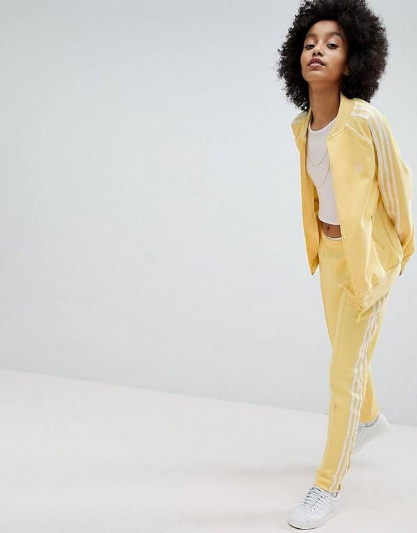 adidas originali adicolor tre strisce giacca & pantaloncini in