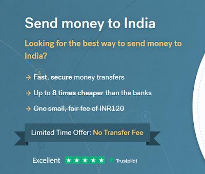 Remit Large Amount Of Money To India