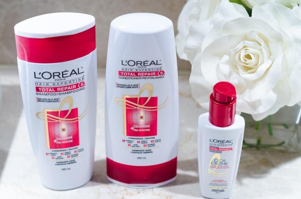 L'Oreal Paris Expertise Total Repair 5 Hair Care Review