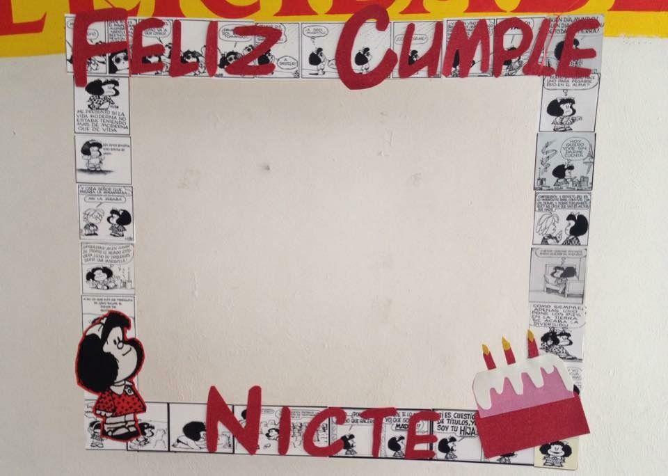 Marco para fotos de Mafalda, comics | Joa\'s Party | Pinterest ...