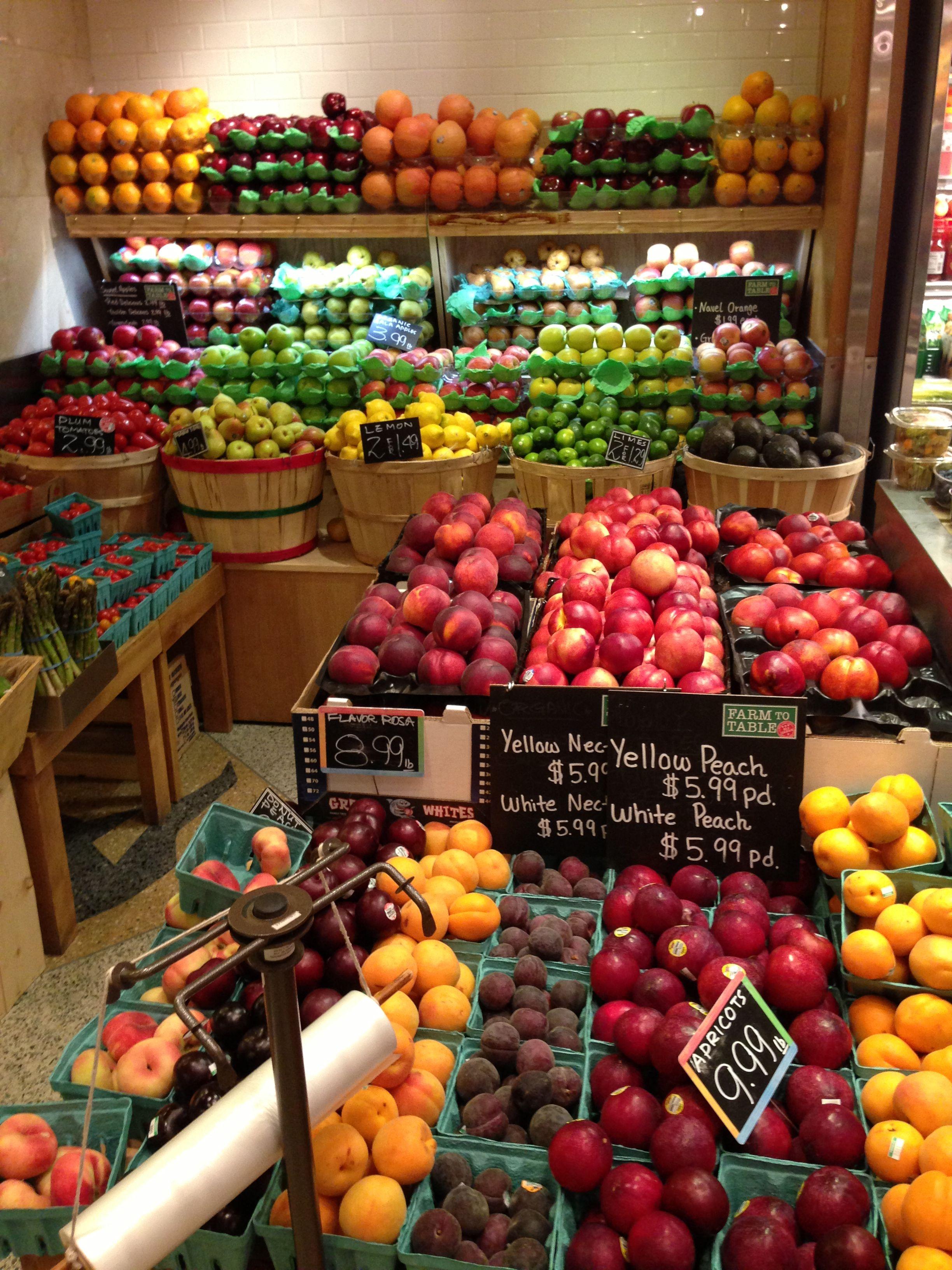 Grand Central Market NY Fruteria y verduleria, Frutas y