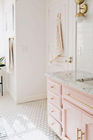 45 stylish hexagon tile ideas for your bathroom
