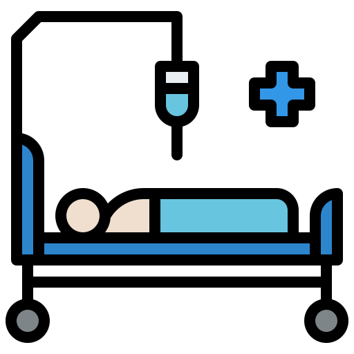 Hospital Bed Free Vector Icons Designed By Iconixar Vector Free Free Icons Vector Icon Design