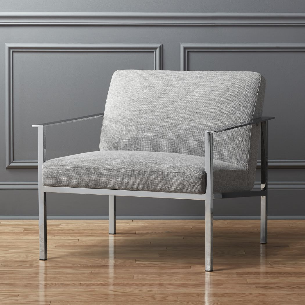 cb2 ease lounge chair