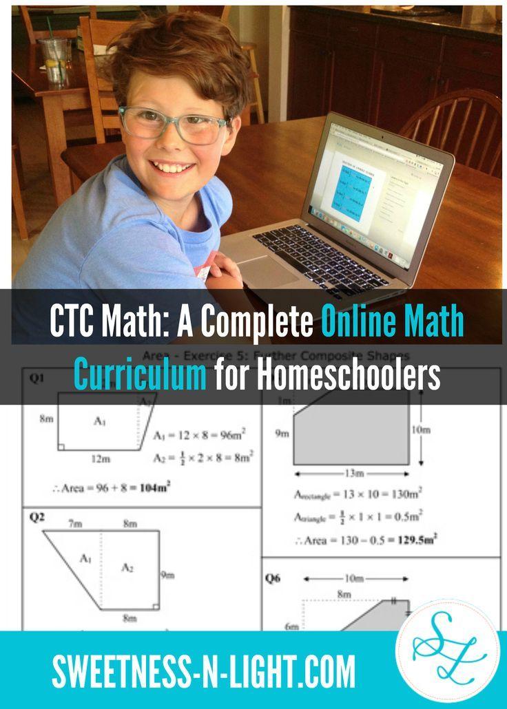 CTC Math: A Complete Online Math Curriculum for Homeschoolers ...