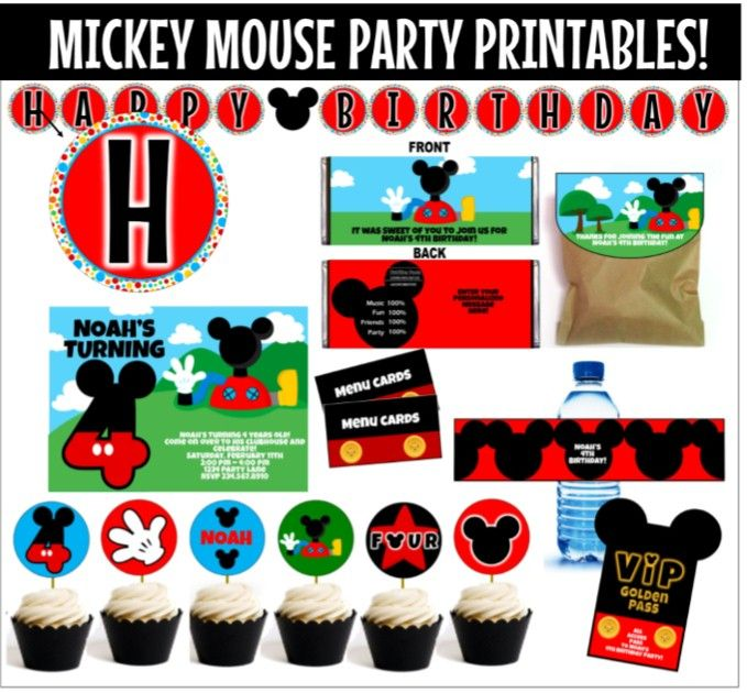 Top 10 Mickey Mouse Birthday Party Ideas for Games First birthday
