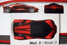 The Ferrari LaFerrari Proposals That Didn't Make The Cut #ferrarilaferrari