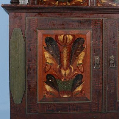 Scandinavian Antiques Amazing Collection Of Authentic Antiques Art Eras Russian Folk Art Painting
