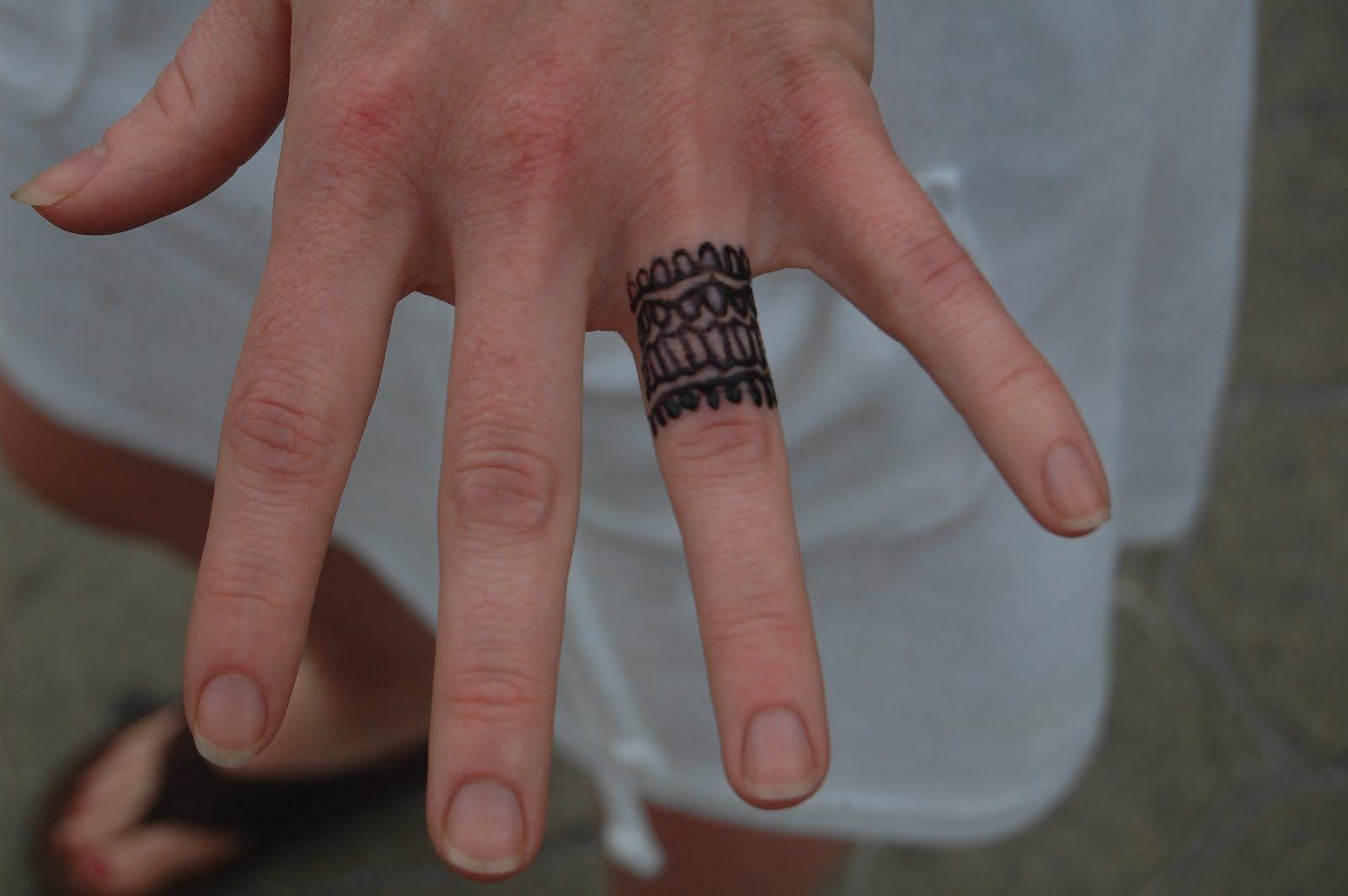 Male Wedding Ring Tattoo Designs: Tattoo Wedding Rings, Wedding Finger