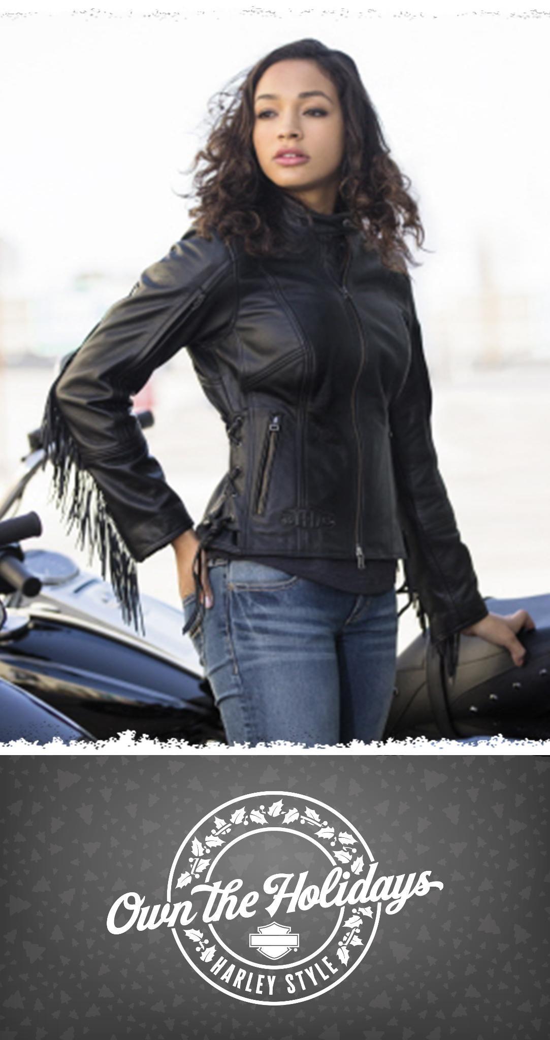Fringe Benefit Harley Davidson Women S Boone Fringed Leather Jacket Wearethebikerstore Classic Harley Davidson Harley Davidson Helmets Fringe Leather Jacket [ 2048 x 1083 Pixel ]