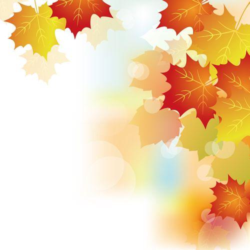 Autumn Beautiful Leaves Theme Background Vector 02 Vector Background Free Download Theme Background Autumn Theme Fall Wallpaper