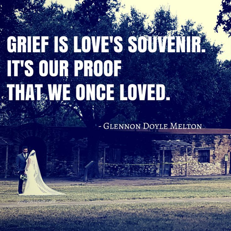 Glennon Doyle Melton Quotes Prepossessing Grief Is Love's Souvenirit's Our Proof That We Once Loved