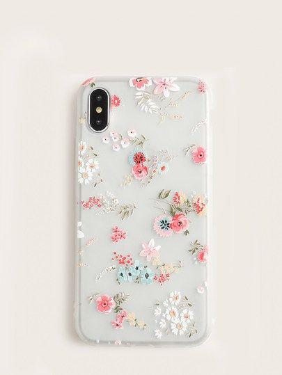 Floral iPhone Case [case190315603] – $8.00 – Stella's Christmas Wishlist