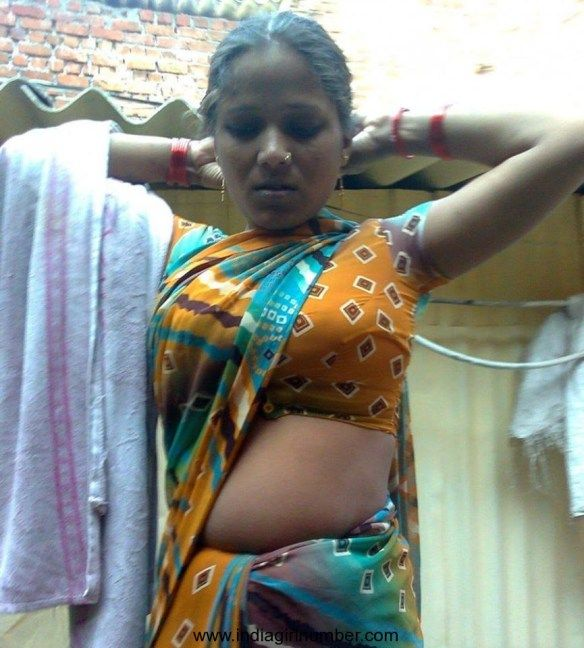 Tamil Village Woman Housewife Getting Ready For Sex With -6458