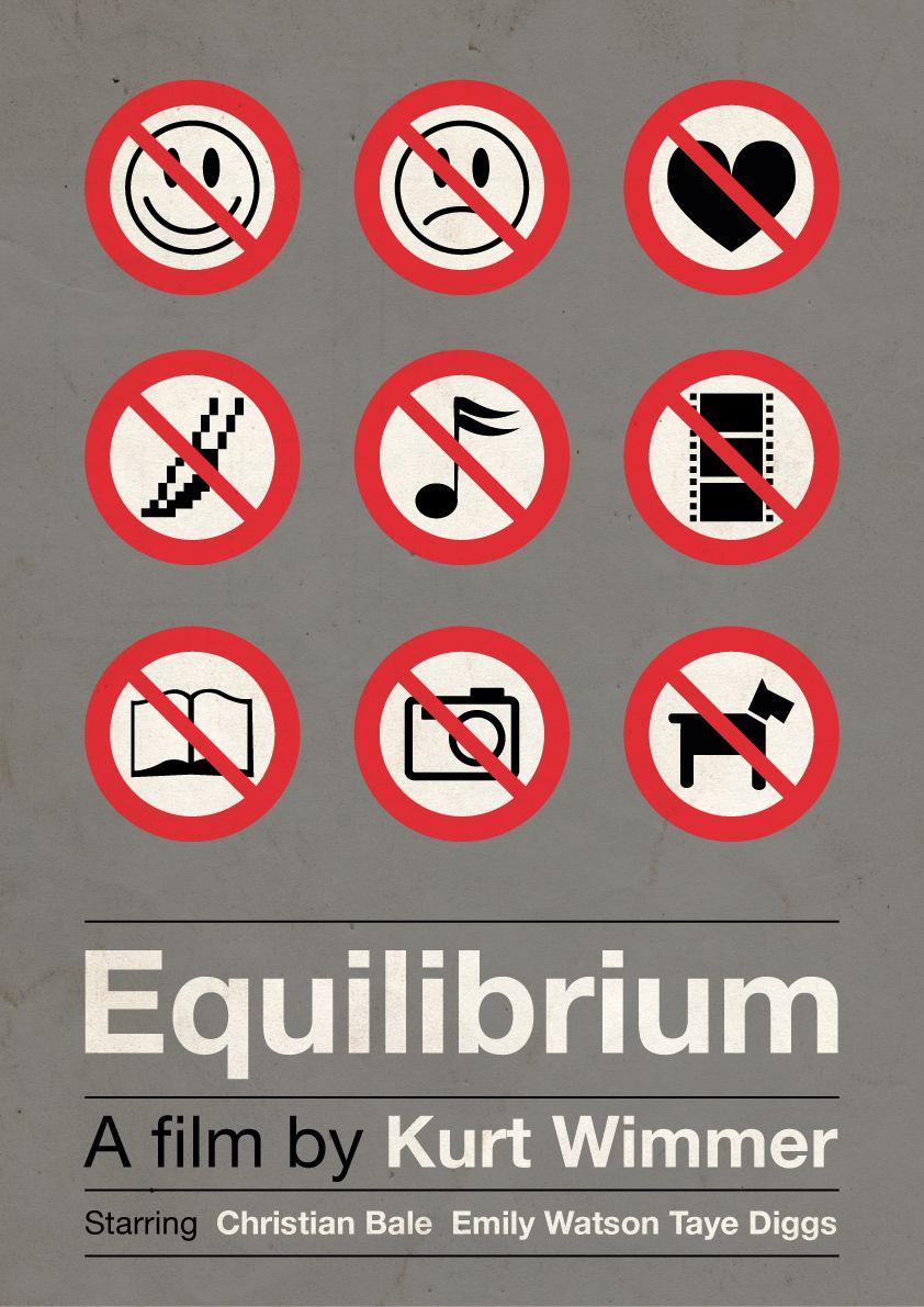Equilibrium\' film poster by Hertzen on deviantART   PRODUCTION ...