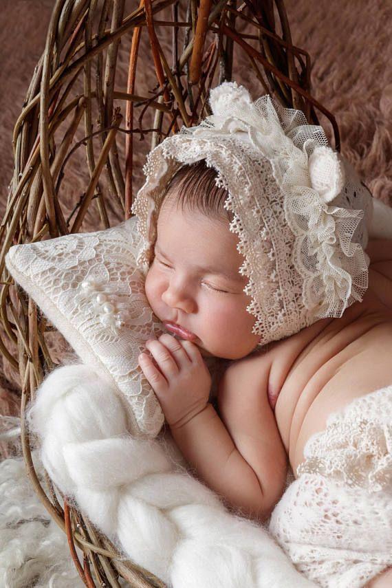 Newborn photo prop set bear bonnet bonnet and rpants newborn romper newborn props newborn prop newborn romper newborn photo props newborn photos