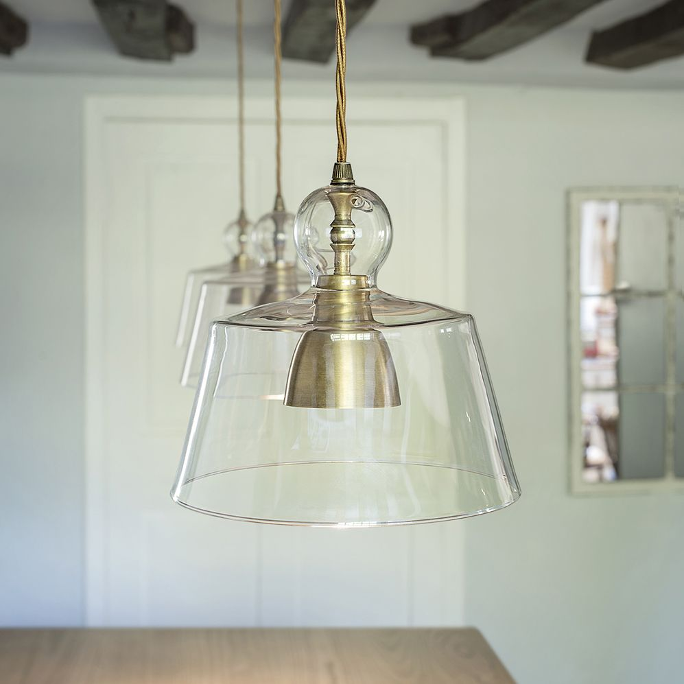 Chandelier Lighting Glass: Lovell Glass Pendant Light