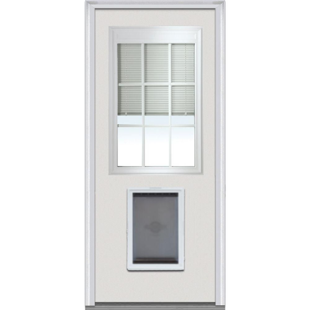 Mmi door in x in internal blinds gbg righthand lite