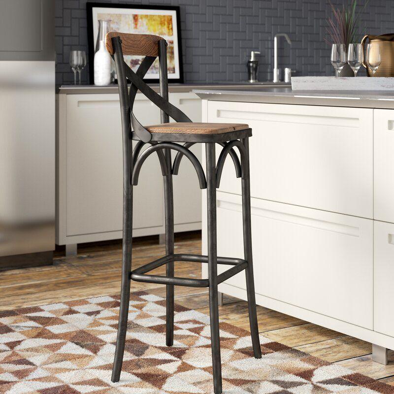 New Kitchen Nicole Miller Counter Height Bar Stools Found At Homegoods Lyra Silestone Counter Tops Wit Bar Stools Kitchen Island Kitchen Stools Kitchen Bar