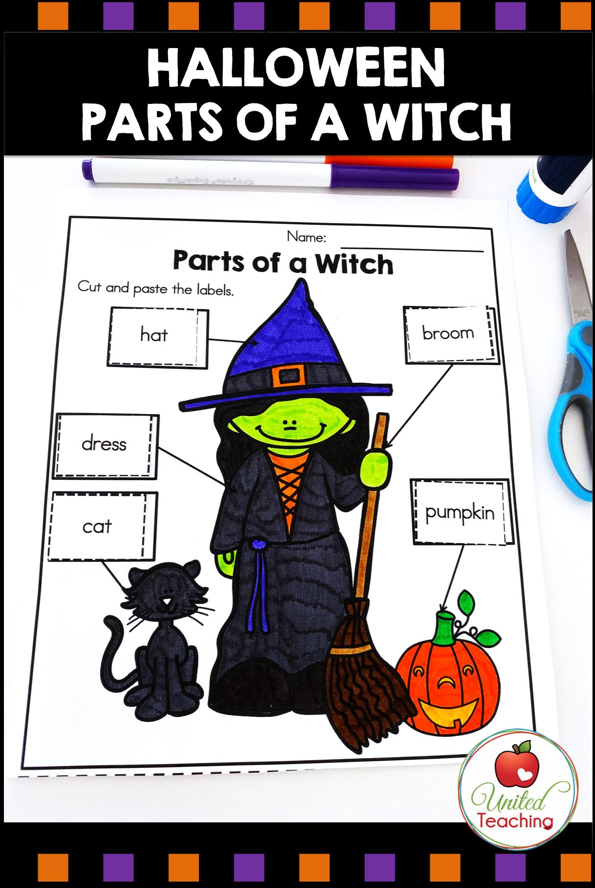 Halloween Literacy Activities Kindergarten